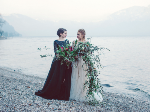 Same Sex Elopement|Como Lake